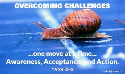 Overcoming Challenges, One Move at a Time: Awareness, Acceptance, and Action