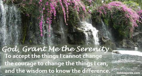 Gain Acceptance to Overcome Challenges, Serenity Prayer