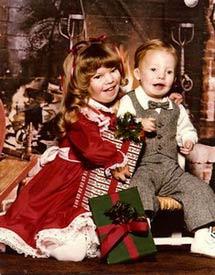 Debbie Jorde's Children as Toddlers, Heather and Logan Madsen