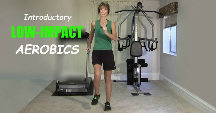 Best Introductory Low Impact Aerobics Exercises Video To Do At Home
